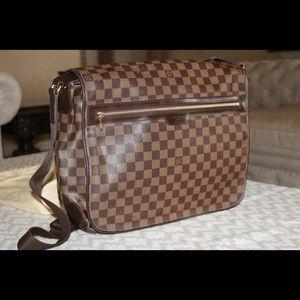 AUTHENTIC LV Spencer Damier Ebene Laptop Bag